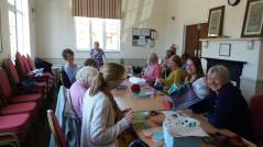 Craft and Laugh at the Village Hall