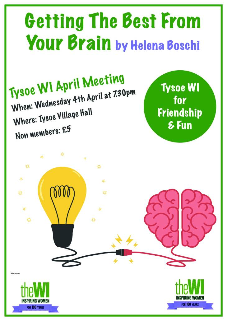 Tysoe April WI Meeting